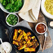Spiced paneer burrito good housekeeping uk
