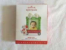 Baby S First Christmas Bauble Hallmark by Collectible Hallmark Ornaments By Year Ebay