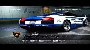 Lamborghini Murcielago Back - nfs pursuit 2010 lamborghini murcielago 640 4 cop youtube