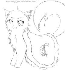 awesome warrior cat coloring pages 86 for coloring for kids with