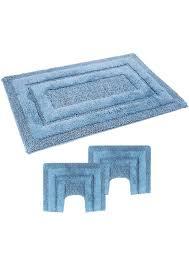 tappeti bagno gabel tappeto bagno antiscivolo in ciniglia sirio parure 3 pezzi