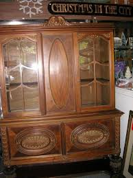 1920 S China Cabinet by West Saint Paul Antiques