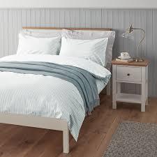 Toddler Duvet John Lewis Buy John Lewis Eton Stripe Jacquard Cotton Duvet Cover And