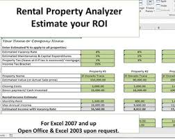 Landlord Spreadsheet Property Manager S Template Managing Rental Property