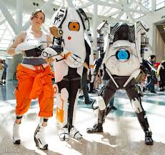 awesome portal costumes geektyrant