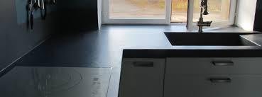 code couleur cuisine cuisine béton ciré plan de travail sol meuble évier