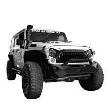 jeep white wrangler front white painting gladiator vader grille for jeep wrangler jk