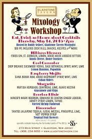 gladstone tavern u2014mixology workshop and cocktail tasting