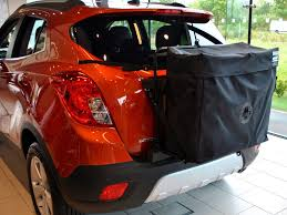 opel mokka trunk vauxhall mokka roof box unique design of box straps to tailgate