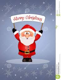 imagenes de santa claus feliz navidad postal de santa claus para la feliz navidad stock de ilustración