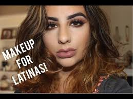 best hair color for latinas makeup tips for latinas olive skin women youtube
