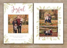 christmas card templates for photography template idea