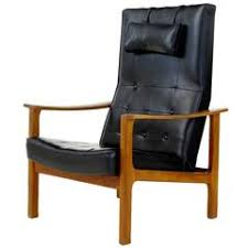 Reclining Leather Armchairs Swedish Armchairs 522 For Sale At 1stdibs