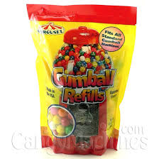 buy carousel refill gumballs 16 oz vending machine supplies for