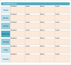 sample meal planning template 16 download free documents in pdf
