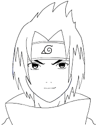 tutorial naruto how to draw sasuke uchiha from naruto step by step drawing tutorial