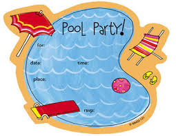 pool party invitations printable pool party invitations theruntime