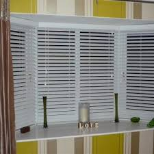 Wooden Blinds With Curtains Decor Faux Wood Blinds For Uv Protect And Decor