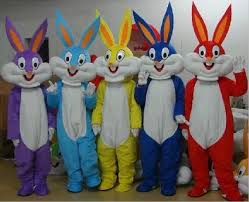 aliexpress buy kids size gray bugs bunny mascot