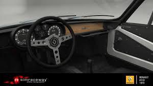 2017 alpine a110 interior simraceway renault alpine a110