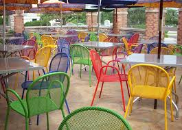 outdoor restaurant furniture color charm outdoor restaurant