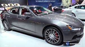 maserati interior 2016 maserati ghibli s exterior and interior walkaround 2015