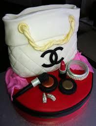 designer cakes chanel purse cake designer handbag and mac make up cake