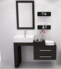 Vanities For Bathrooms Wonderful 34 Inch Vanity Avola Vessel Sink Bathroom Pertaining To