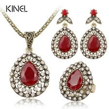 red necklace earrings set images Buy 100 fashion accessories jewelry watch sunglasses store jpg