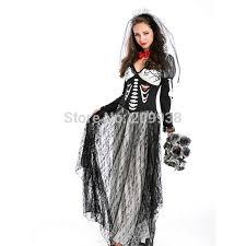Bride Halloween Costume Popular Halloween Corpse Bride Costume Buy Cheap Halloween Corpse