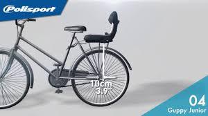 siege bebe velo polisport installation guppy junior polisport siège vélo pour enfant