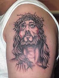jesus and the crown of thorns cool designs tattoomagz