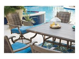 signature design by partanna outdoor dining table set with