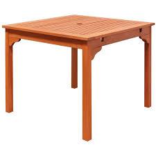 eucalyptus wood dining table ibiza outdoor eucalyptus wood stacking dining table free shipping