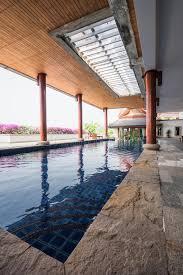 pool inside house swimming pool inside thai style house stock photo image of thai