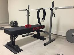 Bench Gym Equipment Monster Utility Bench Weightlifting Rogue Fitness