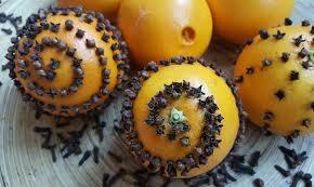 how to make orange pomander balls