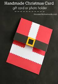 handmade christmas cards handmade christmas card hoosier