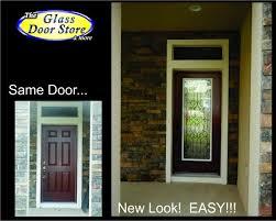 Exterior Glass Door Inserts Modern Concept Single Exterior Doors With Single Glass Front Doors