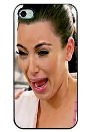 Ugly Cry Meme - kim kardashian s ugly crying face featured on iphone case photo