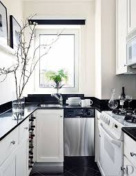 Black Kitchen Cabinets Images Best 10 White Galley Kitchens Ideas On Pinterest Galley Kitchen