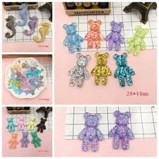 hair bow center online shop free shipping resin kawaii unicorn for