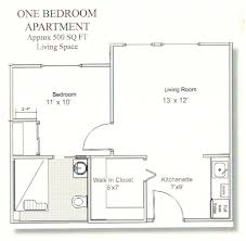one bedroom floor plans house living room design