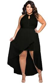 plus size stylish black lace special occasion dress xl 3x