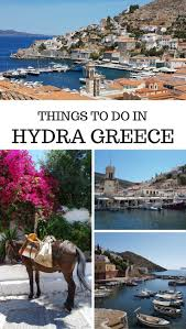 Greece Islands Map by Things To Do In Hydra Island Greece Travelpassionate Com
