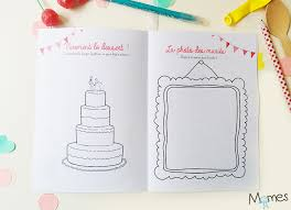 idã e jeu mariage le livret de coloriages et jeux pour enfant à un mariage momes net