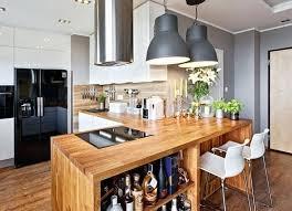 plan de travail bar cuisine bar cuisine bois plan de travail bar cuisine 50 id es mat riaux et