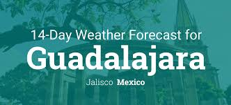 New Mexico Weather Map by Guadalajara Jalisco Mexico 14 Day Weather Forecast