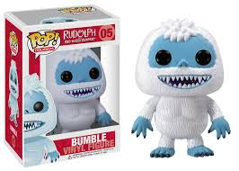pop movies rudolph red nosed reindeer bumble funko