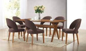 mid century modern dining table set mid century modern dining set groupon goods